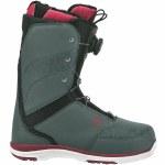 Flow Onyx Coiler Boa Snowboard Boot Womens-Slate/Ruby-9