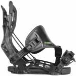 Flow NX2 CX Hybrid Snowboard Bindings-Graphite-L