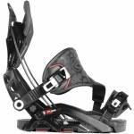 Flow Fuse GT Hybrid Snowboard Bindings-Black-M