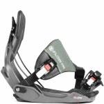 Flow Five Hybrid Snowboard Bindings-Space Grey-XL