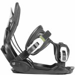 Flow Alpha Snowboard Bindings-Charcoal-M
