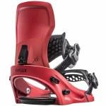 Flux-XF Snowboard Binding-Metallic Red-L