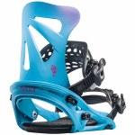 Flux-DSL Snowboard Binding-Sky Blue x Pink-M