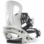Flux-TT Snowboard Binding-White-L