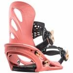 Flux-GU Snowboard Binding-Salmon Pink-XS