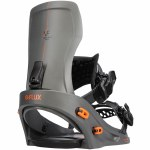Flux Bindings Mens XF Snowboard Binding-Dark Grey-L