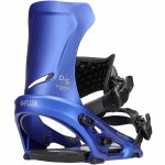 Flux Bindings Mens DS Snowboard Binding-Metallic Azure-M