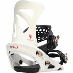 Flux Bindings Mens DSL Snowboard Binding-Gradation White-M