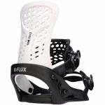 Flux Bindings Mens PR Snowboard Binding-Black/White-M