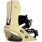 Flux Bindings Womens GX Snowboard Binding-Sand Beige-XS
