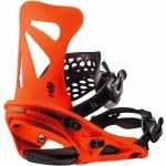 Flux DSL Snowboard Binding-Neon Orange-L