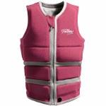 Follow Womens Surf Edition Jacket Vest-Pink-8.0