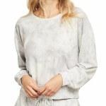 Gentle Fawn Womens Charlie Sweater-Grey Tie Dye-S