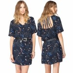 Gentle Fawn Darcy Dress Womens-Floral Print-M