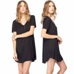 Gentle Fawn McKenna Dress Womens-Black-S