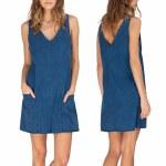 Gentle Fawn Callahan Dress Womens-Medium Wash-S