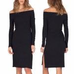 Gentle Fawn Emmalee Dress Womens-Black-M