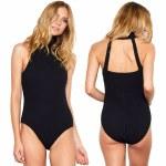 Gentle Fawn Marlowe Bodysuit Womens-Black-XS