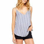 Gentle Fawn Mila Top Womens-Night Shadow Pinstripe-XS