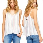 Gentle Fawn Desi Top Womens-Multistripe-S