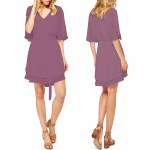 Gentle Fawn Kalamata Dress Womens-Crushed Violet-4