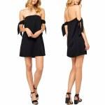 Gentle Fawn Bella Dress Womens-Black-S
