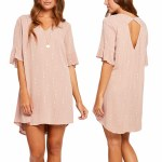 Gentle Fawn York Dress-Rose Dust-S