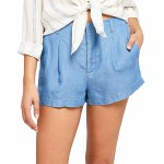 Gentle Fawn Reese Short-Medium Chambray Blue-XS