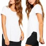 Gentle Fawn Alabama Short Sleeve T Shirt-White-XS