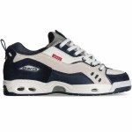 Globe Mens CT IV Classic Shoe-White/Blue-8.5