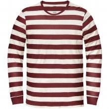 Globe Dion Long Beach Long Sleeve Shirt-Deep Red-L