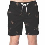 Globe Split Pool Short-Vintage Black-36