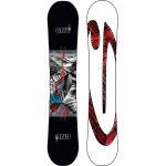 Gnu Mens Asym Carbon Credit BTX Snowboard-Assorted-156