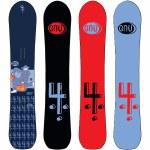 Gnu Mens 4 C3 Snowboard-Assorted-156