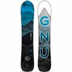 Gnu Mens Anti Gravity C3 Snowboard-Assorted-153