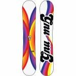 Gnu Womens Asym B nice BTX Snowboard-Light-151