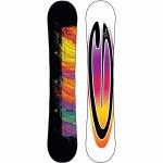 Gnu Womens Asym B nice BTX Snowboard-Dark-148