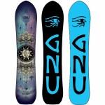 Gnu Womens Free Spirit C3 Snowboard-Assorted-148