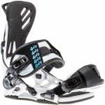 Gnu B-Free Snowboard Bindings Womens-White-S