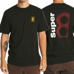 Girl Kodak Super 8 Short Sleeve T Shirt-Black-XL
