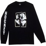Hockey John Torn Long Sleeve T Shirt-Black-XL