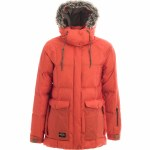 Holden Carter Jacket Womens-Crimson-M