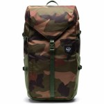 Herschel Barlow Large Backpack-Woodland Camo-27L