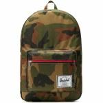 Herschel Pop Quiz Backpack-Woodland Camo-22L