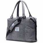 Herschel Strand Duffle Bag-Raven Crosshatch-28.5L