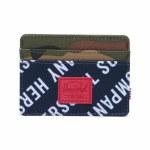 Herschel Charlie Wallet-Roll Call Peacoat/Woodland Camo-OS