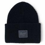 Herschel Mens Juneau Beanie-Black-OS