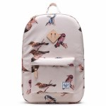 Herschel  Heritage Backpack-Natural Birds-21.5L