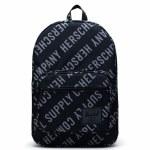 Herschel  Pop Quiz Backpack-Roll Call Black/Sharkskin-22L