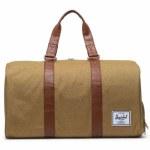 Herschel  Novel Duffle Bag-Coyote Slub-42.5L